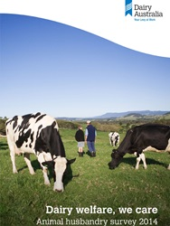 Dairy welfare we care animal husbandry survey 2014